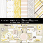 Natures Playground Mini Pack-$4.99 (Karen Lewis)