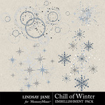 Chill of Winter Scatterz Pack-$1.99 (Lindsay Jane)