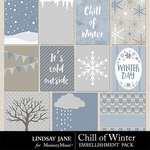 Chill of Winter Journal Cards-$1.99 (Lindsay Jane)