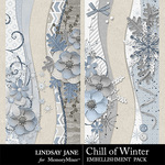 Chill of Winter Border Pack-$1.99 (Lindsay Jane)