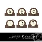 Cowboy Capers Alphabet Pack-$1.00 (Karen Lewis)
