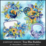 True Blue Buddies Clusters Pack-$3.99 (Jumpstart Designs)