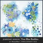 True Blue Buddies Accents Pack-$3.99 (Jumpstart Designs)