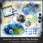True Blue Buddies Extras Emb Pack-$3.99 (Jumpstart Designs)