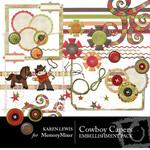 Cowboy Capers Embellishment Pack-$3.00 (Karen Lewis)