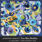 True Blue Buddies Add On Emb Pack-$4.99 (Jumpstart Designs)