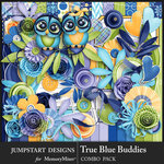 True Blue Buddies Combo Pack-$7.99 (Jumpstart Designs)