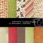 Cowboy Capers Paper Pack-$3.50 (Karen Lewis)