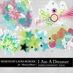 I Am A Dreamer Scatters Pack-$3.99 (Laura Burger)