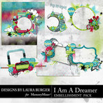 I Am A Dreamer Clusters and Quickpages-$4.99 (Laura Burger)