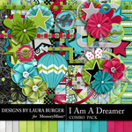 I Am A Dreamer Combo Pack-$7.99 (Laura Burger)
