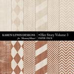Her Story Paper Pack 3-$2.99 (Karen Lewis)