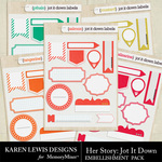 Her Story Jot It Down-$1.99 (Karen Lewis)