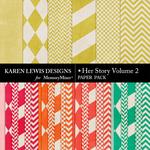 Her Story Paper Pack 2-$3.99 (Karen Lewis)
