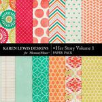 Her Story Paper Pack 1-$2.99 (Karen Lewis)