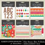 Her Story Bits n Bobs Pack-$3.99 (Karen Lewis)