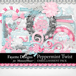 Peppermint Twist Embellishments-$4.49 (Fayette Designs)