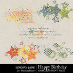 Happy Birthday LJ Scatterz Pack-$1.99 (Lindsay Jane)