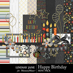 Happy Birthday LJ Mini Pack-$1.99 (Lindsay Jane)