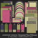 Jumpstart Your February Journal Pack-$3.99 (Jumpstart Designs)