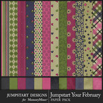 Jumpstart Your February Paper Pack-$3.99 (Jumpstart Designs)