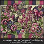 Jumpstart Your February Combo Pack-$8.99 (Jumpstart Designs)