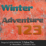 Winter Adventure Alphabet Pack-$2.10 (Laura Burger)