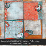Winter Adventure Stacked Paper Pack-$3.50 (Laura Burger)