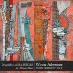 Winter Adventure Borders Pack-$4.99 (Laura Burger)