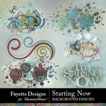 Starting Now Background Fancies Pack-$3.99 (Fayette Designs)