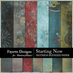 Starting Now Hotmess Blends Paper Pack-$2.80 (Fayette Designs)
