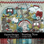 Starting Now Combo Pack-$8.99 (Fayette Designs)