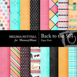 Back to the 50's Paper Pack-$4.00 (Melissa Nuttall)