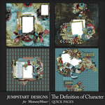 The Definition of Character Quick Pages 2-$4.99 (Jumpstart Designs)