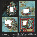 The Definition of Character Quick Pages 1-$4.99 (Jumpstart Designs)