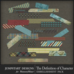 The Definition of Character Washi Tape Pack-$2.10 (Jumpstart Designs)