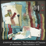 The Definition of Character Torn Trim Pack-$3.50 (Jumpstart Designs)