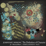 The Definition of Character Accents Pack-$2.80 (Jumpstart Designs)