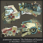 The Definition of Character Tidbit Cluster Pack-$2.80 (Jumpstart Designs)