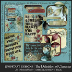 The Definition of Character Journal Bits-$2.80 (Jumpstart Designs)