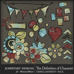 The Definition of Character Doodle Pack-$3.99 (Jumpstart Designs)