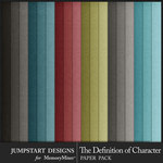 The Definition of Character Plain Paper Pack-$3.99 (Jumpstart Designs)