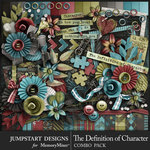 The Definition of Character Combo Pack-$6.29 (Jumpstart Designs)