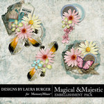 Magical and Majestic Clusters Pack-$4.99 (Laura Burger)