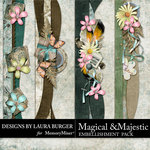 Magical and Majestic Borders Pack-$4.99 (Laura Burger)