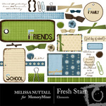 Fresh Start Embellishment Pack-$3.00 (Melissa Nuttall)