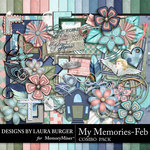 My Memories February Combo Pack-$5.99 (Laura Burger)
