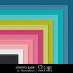 Change Embossed Paper Pack-$1.99 (Lindsay Jane)