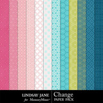 Change Pattern Paper Pack-$1.99 (Lindsay Jane)