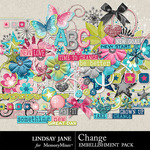 Change Embellishment Pack-$3.49 (Lindsay Jane)